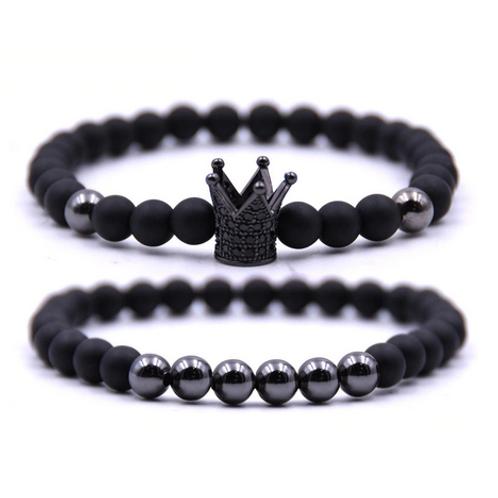 Duo de bracelets, Jonas Somber Jann & Seyvanna