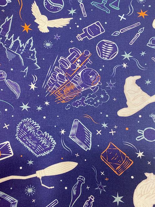 Harry Potter Symbols Purple