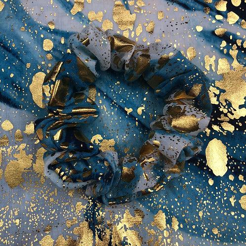 Blue Marble, Gold Splats