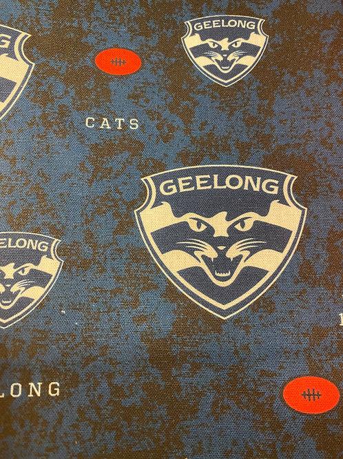 Geelong Cats Inspired Scrunchie