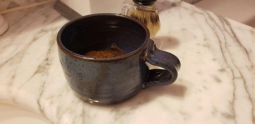Shaving mug - handmade pottery