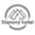 Stanový hotel logo - glamping