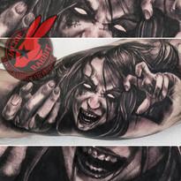 Banshee Demon Devil Witch Zombie Woman G