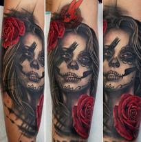 Día_Dio_Deo_de_Muertos_Sugar_Skull_Girl_