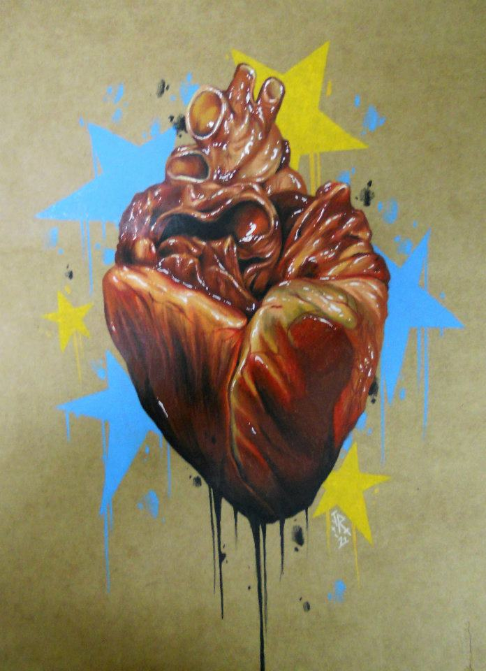 pig heart by jackie rabbit