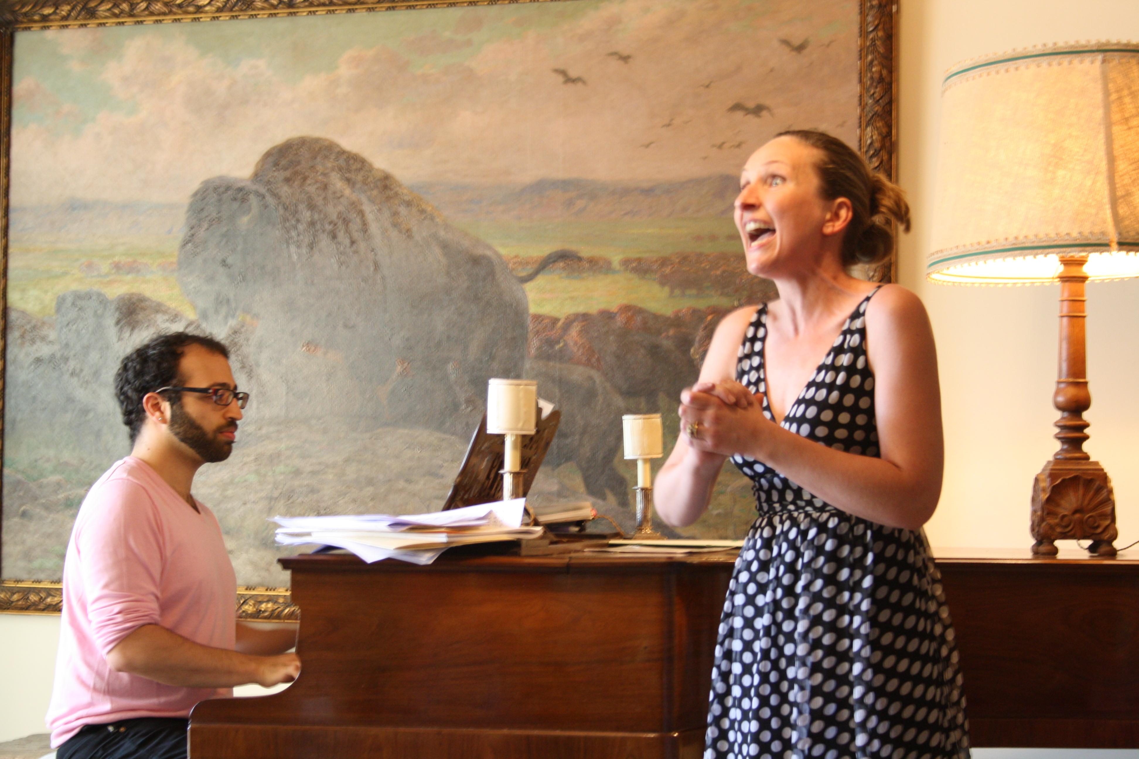 coaching d'une chanteuse