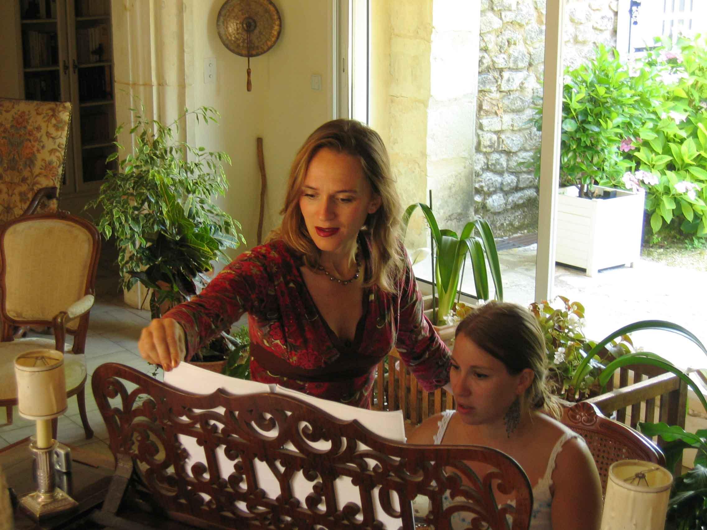 Stéphanie Brunet, coache d'artistes