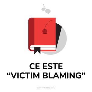 [DICȚIONAR]Victim Blaming