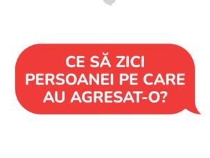 [RECOMANDĂRI] Comunicarea cu persoana agresată