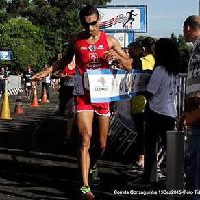Leandro fica em 2º  na tradicional Gonzaguinha.