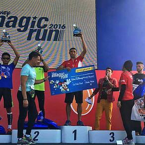 Leandro vence a Disney Magic Run em São Paulo.