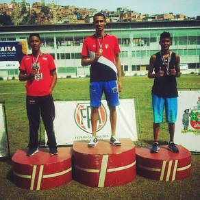 Marcos Lírio ganha bronze no Campeonato Estadual em São Paulo.