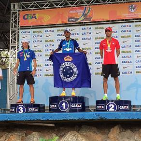 Leandro é vice-campeão Brasileiro de Cross.