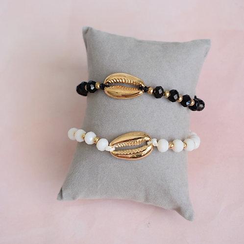 Puka Beaded Bracelet