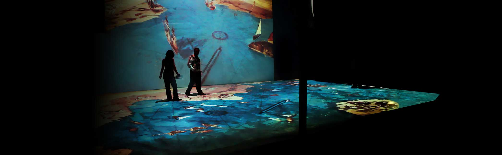 Giant Projection Mapping Exhibition