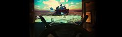Ship Simulator with Steering Wheel