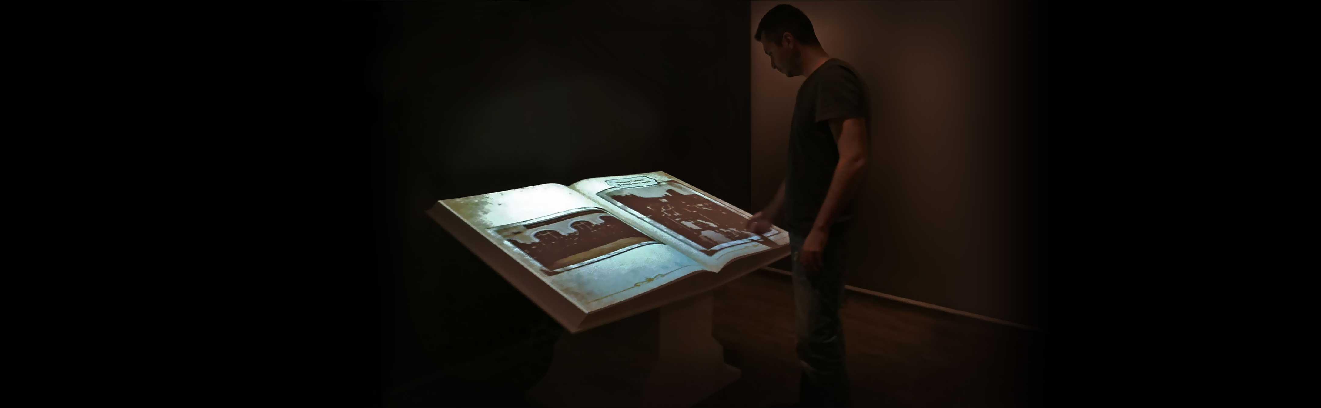 Interactive Book Kiosk