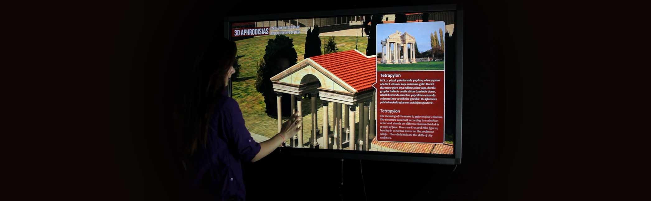 Ancient City 3D Exploration System