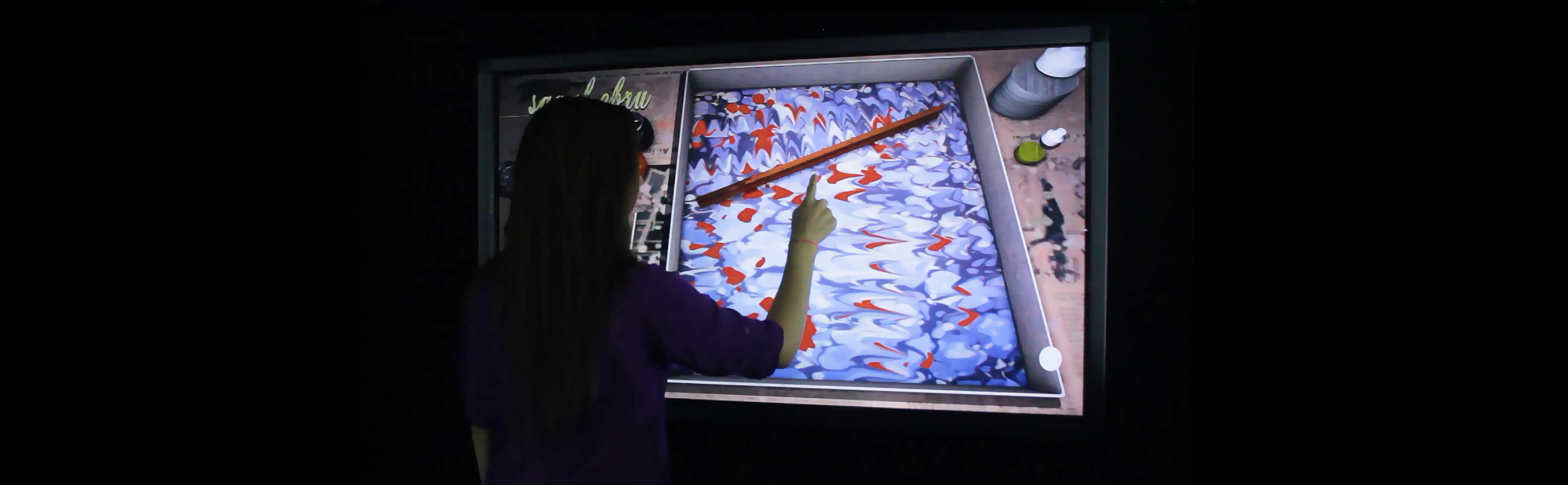 Virtual Marbling Studio