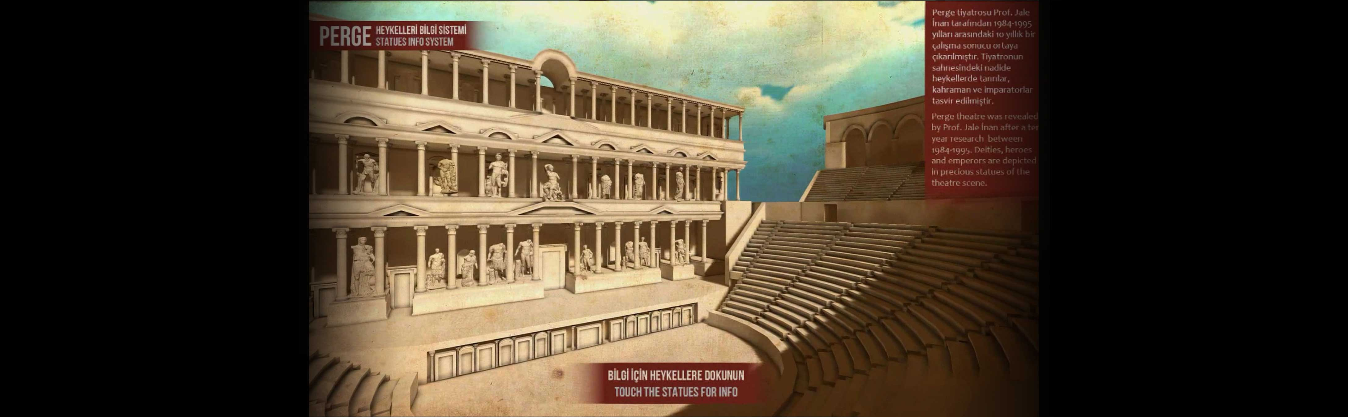 Ancient Perge Theater Visualizer