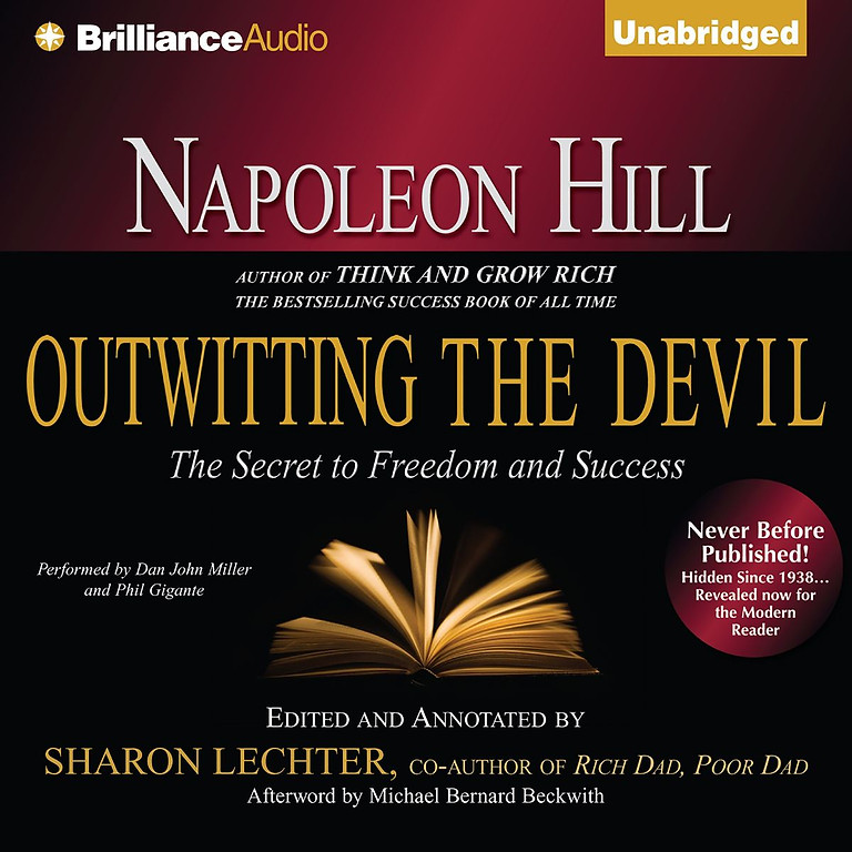 Outwitting The Devil by Napolean Hill
