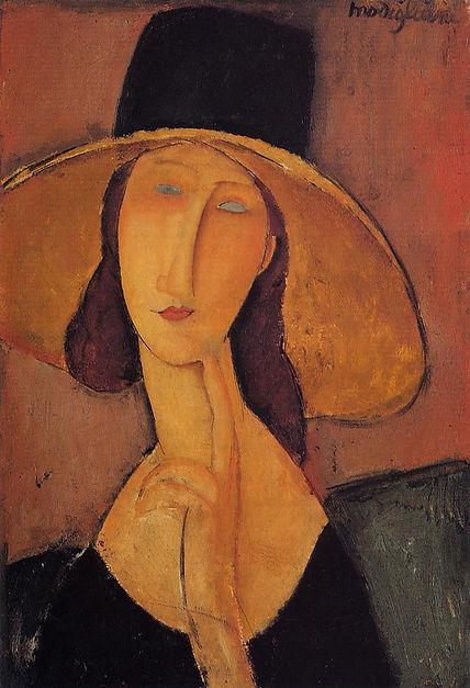portrait-of-jeanne-hebuterne-in-a-large-