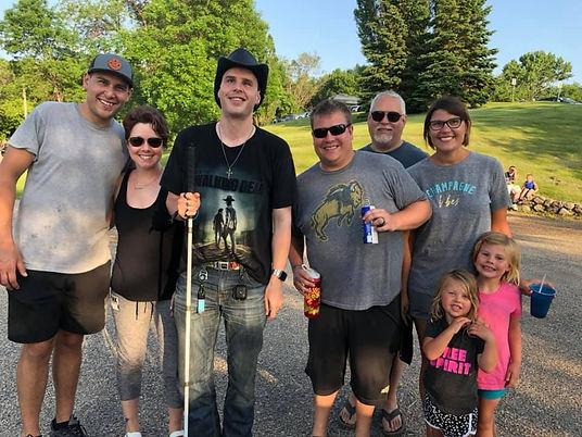 blind joe with family.jpg