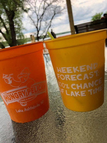 Bring your Hungry Pelican cup back for 50 cents off your next drink!