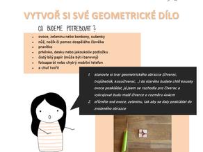 Ovoce & geometrie | Pracovní list do výtvarné výchovy