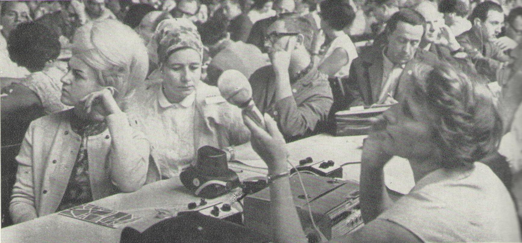 Z dění na XVIII. světovém kongresu INSEA v Praze roku 1966_zasedání v sekcích