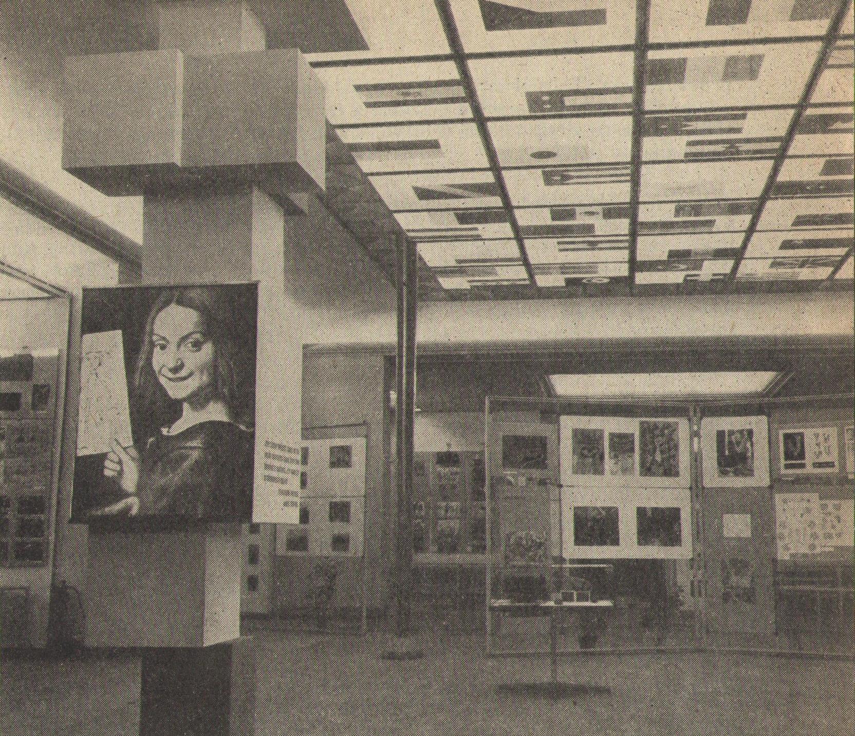 Výstava Dítě a svět, pohled do výstavního prostoru U Hybernů