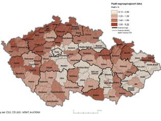 Tady žáci neprospívají | Česká školní inspekce zveřejnila mapy s regiony, v nichž mají žáci problémy