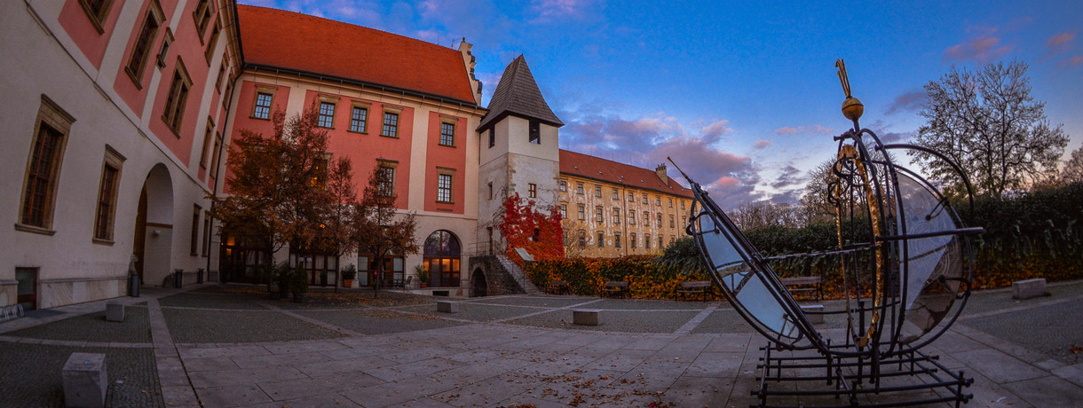 This is our place. Palacký University Olomouc, Czech Republic. And the artwork of our students. Next time we hope to welcome you to our beautiful university town in the middle of Europe.