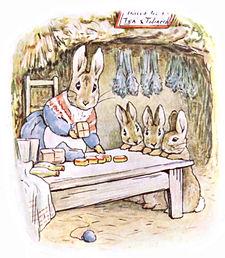 Beatrix_Potter,_Benjamin_Bunny,_Mrs_Rabb