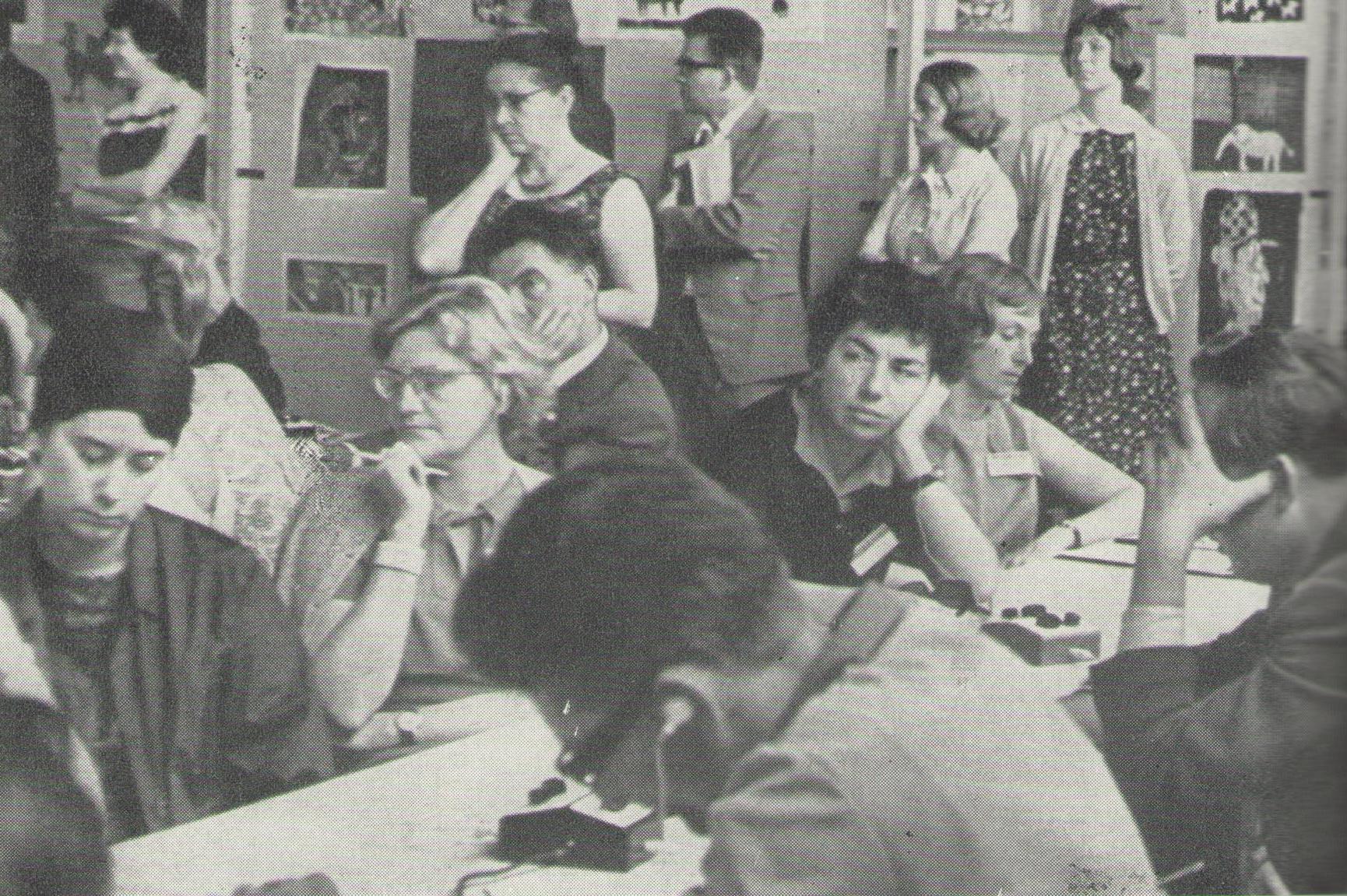 XVIII._světový_kongres_INSEA_v_Praze_roku_1966_jednání_v_sekcích
