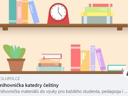 Knihovnička učebních materiálů nejen do češtiny!