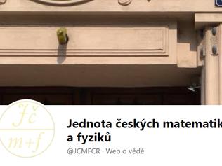 Jednota českých matematiků a fyziků se obrací na své členy otevřeným dopisem