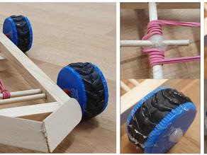 Vrhací stroj, natahovací autíčko, originální robot aneb pozvání k zajímavé práci rukama!