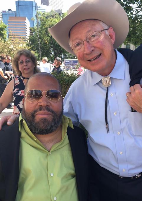 Stewart Lundy & Ken Salazar