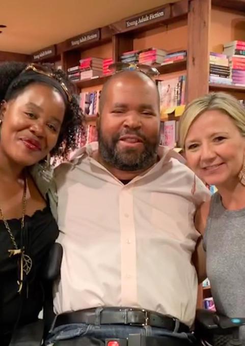 Stewart & Marci Lundy, with Lisa