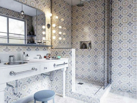 Lively, Bright and Stylish Bathroom