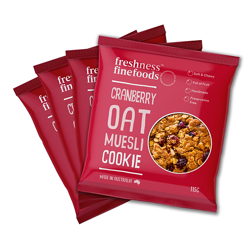 Cranberry Oat Muesli Cookie x4