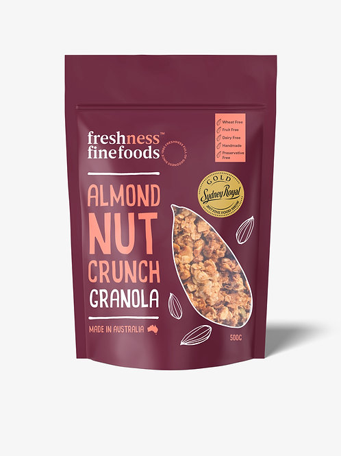Almond Nut Crunch Granola 500g