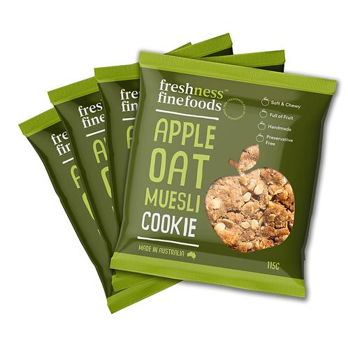 Apple Cinnamon Muesli Cookie x4