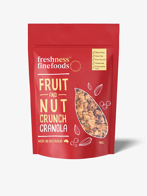 Fruit and Nut Crunch Granola 480g