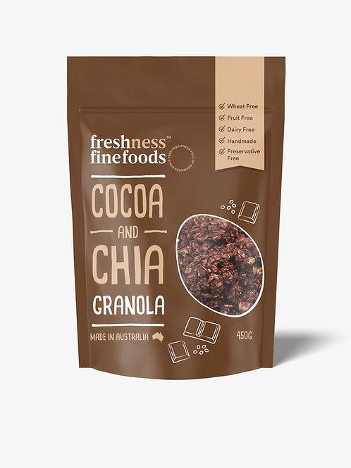 Cocoa & Chia Granola 450g