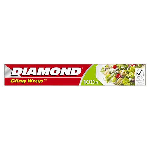 Diamond Cling Wrap 100 sq ft