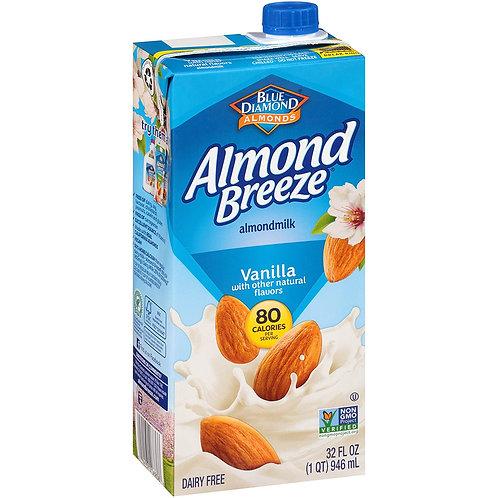 Almond Breeze Vanilla 32oz