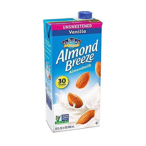 Almond Breeze Unsweetened Vanilla 32 oz