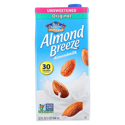 Almond Breeze Unsweetened Original 32oz